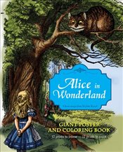 Alice in Wonderland Giant Poster and Coloring Book - Carroll, Lewis