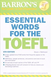 Essential Words for the TOEFL 6e - Matthiesen, Steven