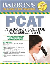 Barrons PCAT 6e : Pharmacy College Admission Test - Chisholm-Burns, Marie