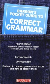 Pocket Guide to Correct Grammar - Griffith, Benjamin W.