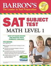 SAT Subject Test Math Level 1 with CD-ROM - Wolf, Ira K.