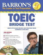 TOEIC Bridge Test w/CD : Test of English for International Communication - Lougheed, Lin