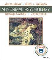 Abnormal Psychology 12e ISV - Kring, Ann M.
