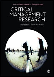 Critical Management Research : Reflections from the Field - Jeanes, Emma