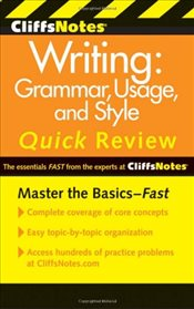 CliffsNotes Writing 3e : Grammar, Usage, and Style Quick Review -