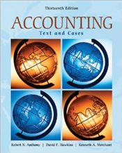 Accounting 13e : Texts and Cases - Anthony, Robert N.