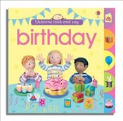 Birthday (Usborne Look and Say) - Brooks, Felicity