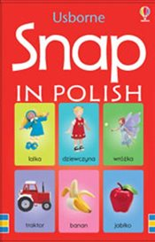 Snap Cards in Polish (Usborne Language) - Brooks, Felicity