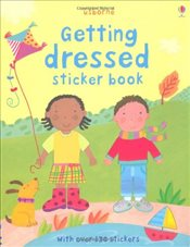 Getting Dressed (Usborne Sticker Books) - Brooks, Felicity