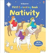 First Nursery Rhymes Colouring Book with Stickers by Brooks, Felicity ( Author ) ON Oct-29-2010, Pap - Brooks, Felicity