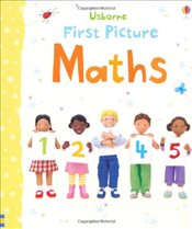 First Picture Maths (Usborne First Picture Books) - Brooks, Felicity