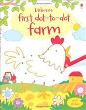 Farm (First Dot to Dot Books) (Usborne First Dot to Dot Books) - Brooks, Felicity