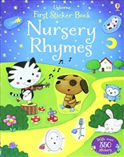 Nursery Rhymes (Usborne First Sticker Books) - Brooks, Felicity