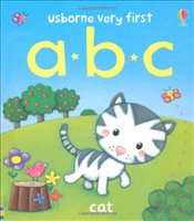 Very First Words: ABC (Usborne Very First Words) - Brooks, Felicity