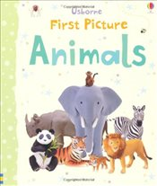 First Picture Animals (Usborne First Picture Books) - Brooks, Felicity