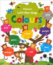 Lift the Flap Colours Book (Usborne Lift-the-Flap-Books) - Brooks, Felicity