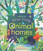 Peep Inside Animal Homes - Milbourne, Anna