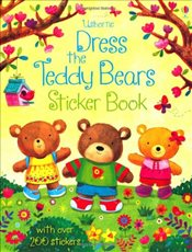 Dress the Teddy Bears Sticker Book - Brooks, Felicity