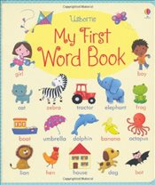 My First Word Book - Brooks, Felicity