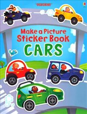 Make a Picture Sticker Book Cars - Brooks, Felicity