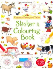 Farmyard Tales Sticker and Colouring Book - Brooks, Felicity