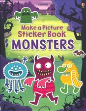 Make a Picture Sticker Book Monsters - Brooks, Felicity