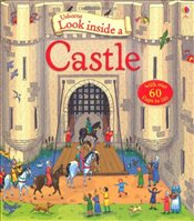 Look Inside a Castle (Usborne Look Inside) - Mason, Conrad