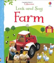 Look and Say Farm (Usborne Look and Say) - Brooks, Felicity