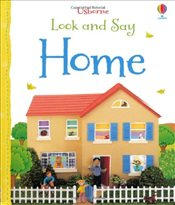 Look and Say Home (Usborne Look and Say) - Brooks, Felicity