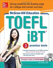 TOEFL iBT with 3 Practice Tests and DVD-ROM - Collins, Tim