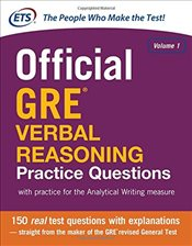 Official GRE Verbal Reasoning Practice Questions 1 - ETS