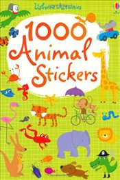 1000 Animal Stickers - Watt, Fiona