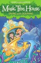 Magic Tree House 9 : Diving with Dolphins - Osborne, Mary Pope