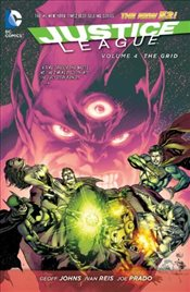 Justice League Volume 4 : The Grid TP : The New 52 - Johns, Geoff