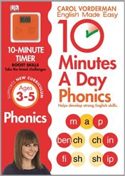 10 Minutes A Day Phonics KS1  - Vorderman, Carol