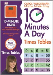10 Minutes A Day Times Tables  - Vorderman, Carol