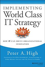 Implementing World Class IT Strategy : How it Can Drive Organizational Innovation - High, Peter A.