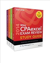 Wiley CPAexcel Exam Review 2014 Study Guide July Set - Whittington, O. Ray
