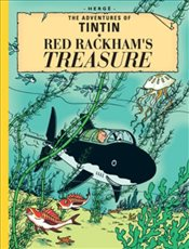 Red Rackhams Treasure : Collectors Giant Facsimile Edition : The Adventures of Tintin - Herge,