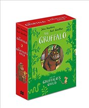Gruffalo and The Gruffalos Child Board Book Gift Slipcase - Donaldson, Julia