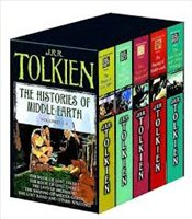 History of Middle-Earth : Volumes 1-5 Box Set - Tolkien, J. R. R.