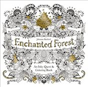 Enchanted Forest : An Inky Quest and Coloring Book - Basford, Johanna