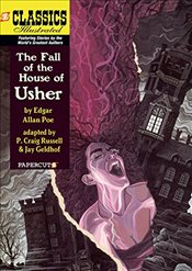Classics Illustrated #20: The Fall of the House of Usher (Classics Illustrated Graphic Novels) - Poe, Edgar Allan
