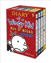 Diary of a Wimpy Kid Box of Books (1-4 Set) - Kinney, Jeff