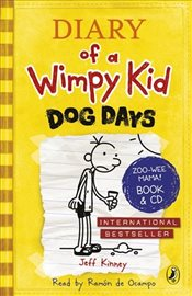 Diary of a Wimpy Kid: Dog Days (Book 4) - Kinney, Jeff