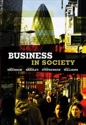 Business in Society - Erickson, Mark