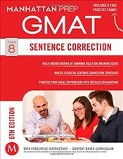 Sentence Correction GMAT Strategy Guide 6e -