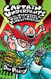Captain Underpants and the Terrifying Return of Tippy Tinkletrousers - Pilkey, Dav