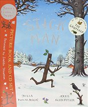 Stick Man : Book and CD - Donaldson, Julia