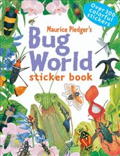 Bug World Sticker Book - Green, Rod